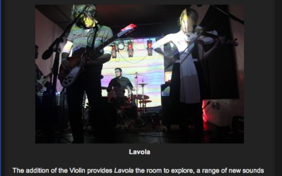 Emerging Indie Bands: Lavola
